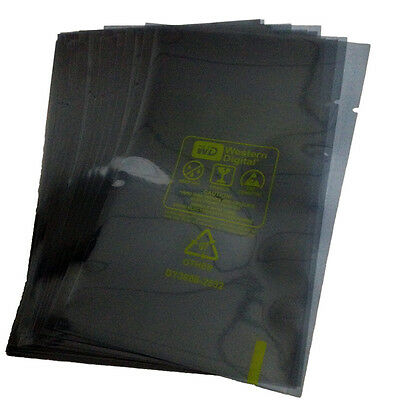"""50pcs 15cm*10.5cm ESD Anti-Static Bags For 2.5"""" WD HDD Hard Disk Drive Packing"""