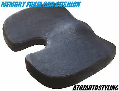 MEMORY FOAM Cushion Wedge Lumbar Support Back COCCYX Pain Relief Car **NEW**
