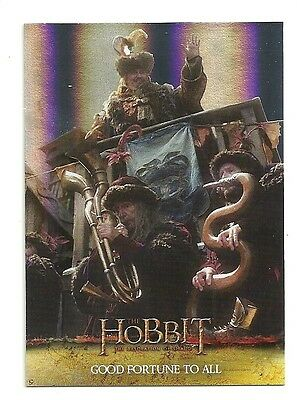 2015 The Hobbit Desolation of Smaug Silver Foil Card # 47