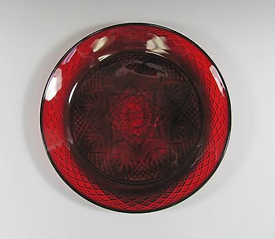 Cris D Arques/Durand Crystal ANTIQUE-RUBY Dinner Plate(s) Multi Avail