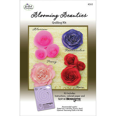 Quilled Creations Quilling Kit - Blooming Beauties
