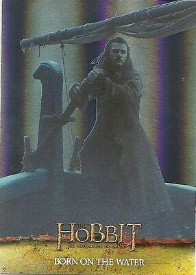 2015 The Hobbit Desolation of Smaug Silver Foil Card # 31