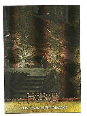 2015 The Hobbit Desolation of Smaug Silver Foil Card # 55