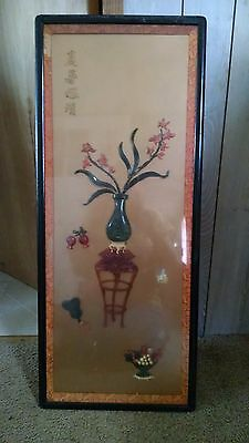chinese wall art set of four
