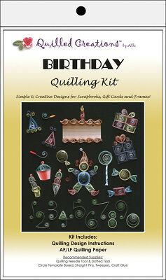 Quilled Creations Quilling Kit - Birthday