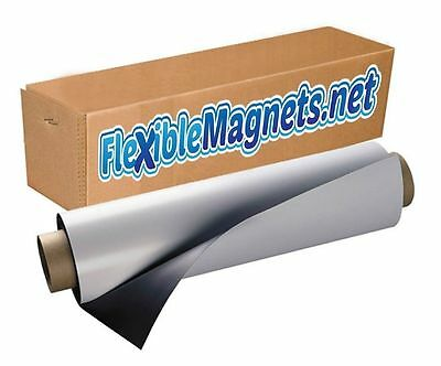 "24"" width x8Ft  Blank Magnetic Sheet, Car Magnet Sign 30mil High Quality Magnet!"