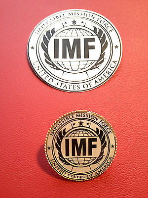 Impossible Mission Force, United States Of America` Badge & Sticker Set