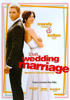 Love, Wedding, Marriage (DVD, 2011) Mandy Moore, Kellan Lutz, James Brolin,