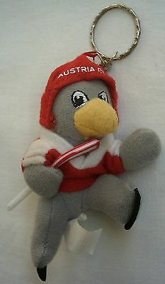 Orig.mascot / keyring  Ice Hockey World Championship AUSTRIA 2005  !!  VERY RARE