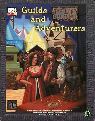 d20: Guilds and Adventurers (New)