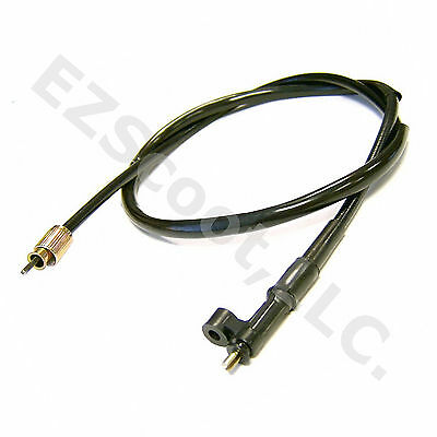 """Speedometer Cable 43"""" 110Cm C Gy6 Chines Scooter Vip Roketa Lance Tank Bello Bms"""