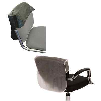 Hairdressing Chair Back Covers, Salon Professional, Plastic, Black/Clear 4 sizes