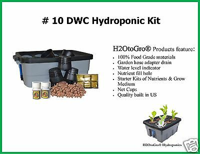 # 10 6 Site ~ Deep Water Culture Hydroponic Grow Box by H2OToGro