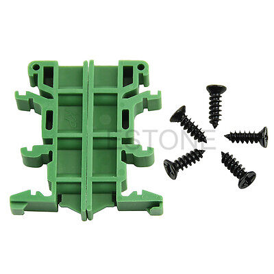 Simple PCB Circuit Board Mounting Bracket For Mounting DIN Rail Mounting mode