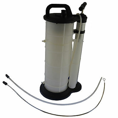 9L Manual Oil Suction Fluid Extractor Transfer Vacuum Pump Gearbox AT987