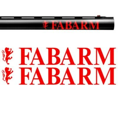 2x FABARM Vinyl Decal Sticker. 2 sizes. 9 colours