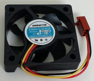 30mm x 30mm x 10mm 3010S 12V 0.06A Brushless DC Cooling Fan U1W2
