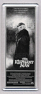 THE ELEPHANT MAN movie poster LARGE 'WIDE' FRIDGE MAGNET - CLASSIC!