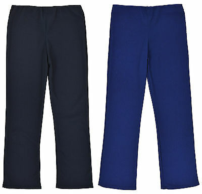 Girls Rib Trouser with Elasticated Waist and Stretch Fit ages 2-15 years Hipster