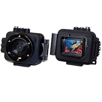 Intova Edge X Waterproof Sports HD Video Wifi 1080p Action Camera & Housing