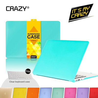 "Crystal Matte Case For Macbook Pro Retina Air 11'' 13"" 15"" 12"" + Keyboard Cover"