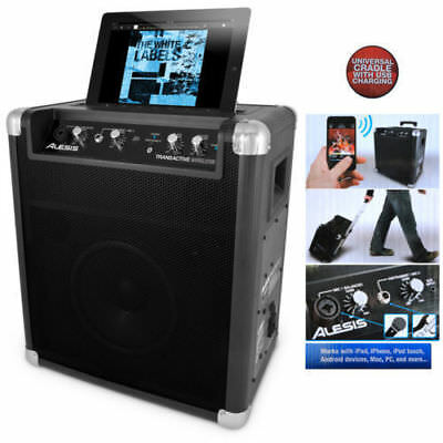 Alesis TransActive PA Wireless Portable Bluetooth Rechargeable Speaker Amplifier