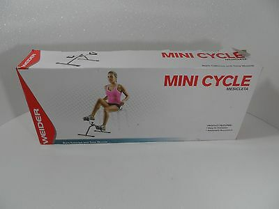 Weider Mini Cycle WMC12  -Burns Calories and Tones Muscle - NEW