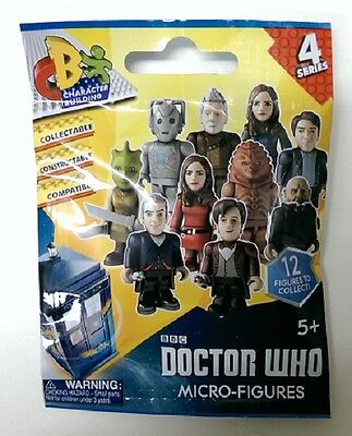 Doctor Who Micro Figure Blind Foil Pack (Wave 4) one-figurine-only-per-pack=NEW