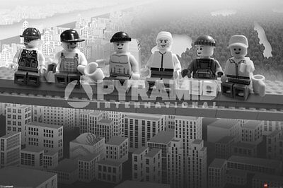 Lego - Lunch On A Lego Skyscraper POSTER 61x91cm NEW * lego men city views