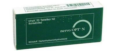 NERVO OPT N Tabletten 20St PZN: 3417551