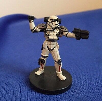 Star Wars Miniatures Force Unleashed #34/60 Evo Trooper - NC