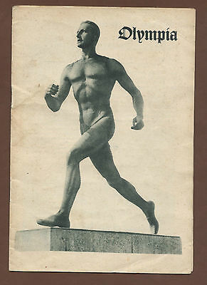 Orig.PRG / Guide   XI.Olympic Games BERLIN 1936 // Special Edt.  !!  RARITY