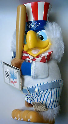 Orig.mascot     Olympic Games LOS ANGELES 1984  -  BASEBALL SAM  !!   VERY RARE