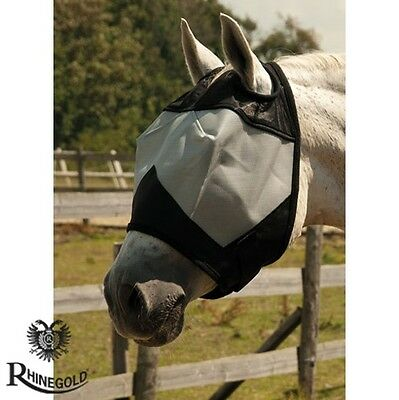 Rhinegold Fly Mask Without Ears – Pony, Cob, Full sizes *FREE P&P*