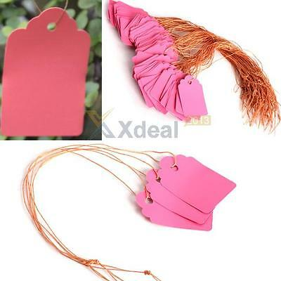 100pcs Waterproof Strip Line Gardening Labels Signs Plant Hanging Tags Hot Sale