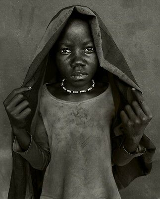 Christopher RIMMER-ORIGINAL Fine Art Photography 'Orphaned Girl' Stunning Art