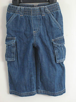 GARANIMALS Size 12 Months Boys Pull-On Blue Medium Denim Jeans