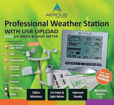 Aercus Instruments WS3083 Pro Wireless Weather Station