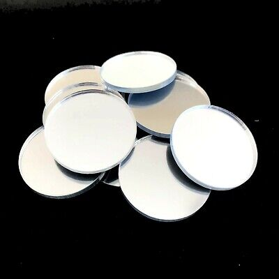 Circle Crafting & Decorative Silver Mirrors (3mm Acrylic Mirror Several Sizes)