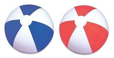 "12 ASSORTED BEACH BALLS 14"" Pool Party Beachball #LN4 Free shipping"