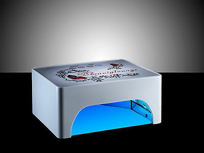35W WHITE LED/CCFL Nail UV Lamp Gel nail polish curing Lamp 3 COLOUR CHOICE
