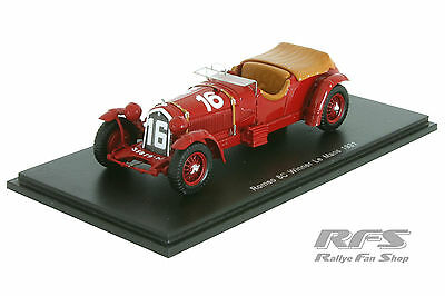 Alfa Romeo 8C 2300LM - Lord Howe - Winner 24h Le Mans 1931 - 1:43 Spark 43LM31