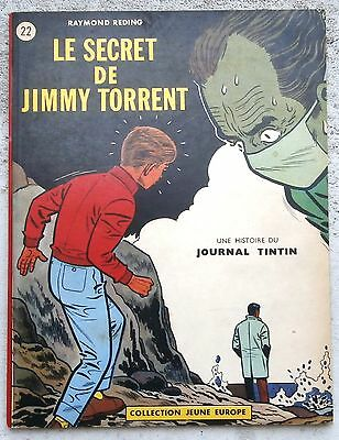 Jari Le Secret de Jimmy Torrent JE22 EO 1963 comme neuf Reding