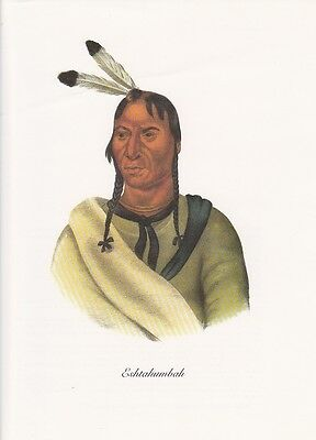 """INDIAN Lithograph 1972 Vintage Full Color Art Plate /""""PAYTAKOOTHA/"""" NATIVE AM"""