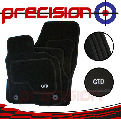 VW Volkswagen Golf Mk6 Mark VI - Fitted Tailored Car Mats with GTD Logo