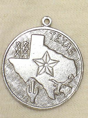 Vintage Sterling Texas State Tourist Charm