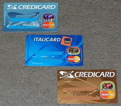 Set of Three Credit Card - Expired - only to collection