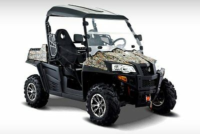 PARKLAND'S HISUN PQV-800 4x4 Utv off road vehicle,  NEW .