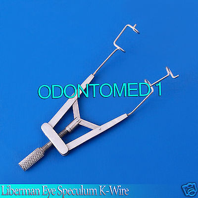 Liberman Eye Speculum K-Wire Opthalmic Surgical Instruments