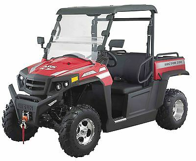 PARKLAND'S Hisun Sector 250  4x2 Utv off road vehicle,  NEW  MODEL